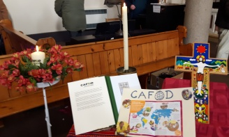 CAFOD Memorial book of remembrance