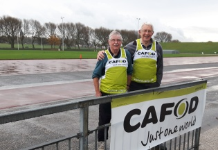 Mike Dooling and Mike Merriman have been involved since the first fun run!