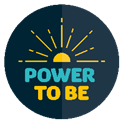 power to be logo