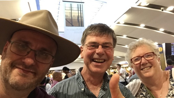 David, Ged and Maggie reach the Philippines at last!