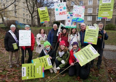 CAFOD campaigners from the North West and North Wales credit Rosie Heaton